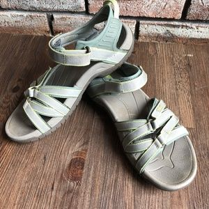 TEVA TIRRA Ankle Strap Hiking Fishing Sandals ~ 9
